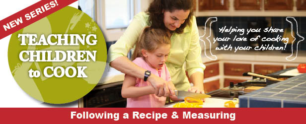 teaching kids to cook measuring