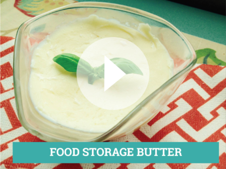 FOOD STORAGE BUTTER