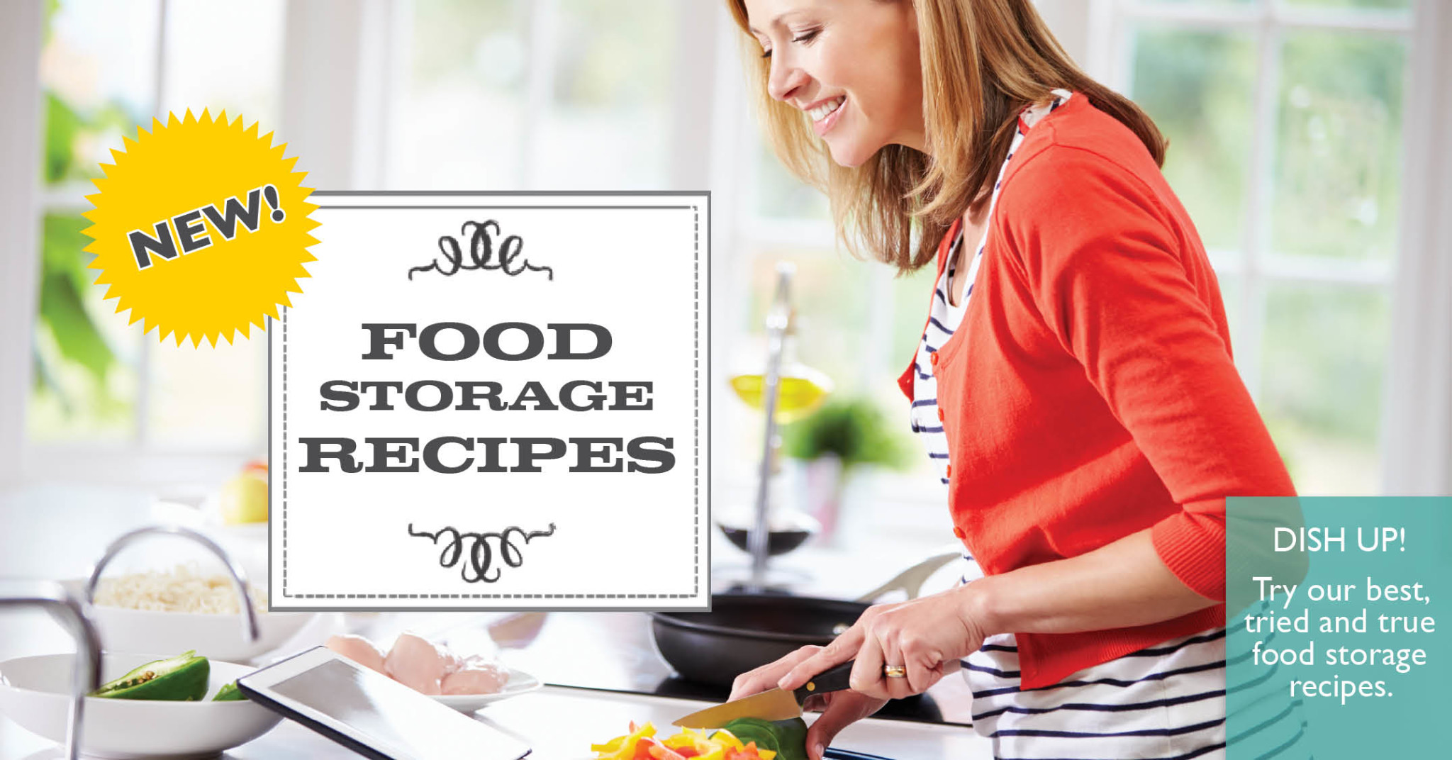 food storage recipes