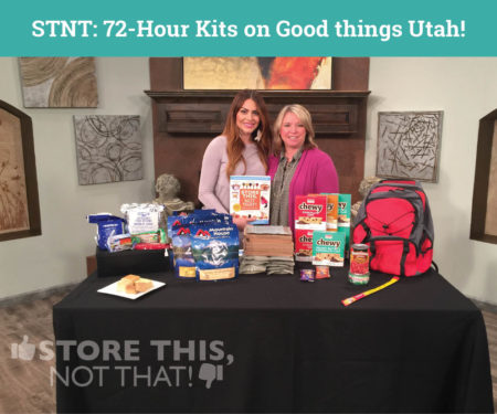 72 hour kit good things utah