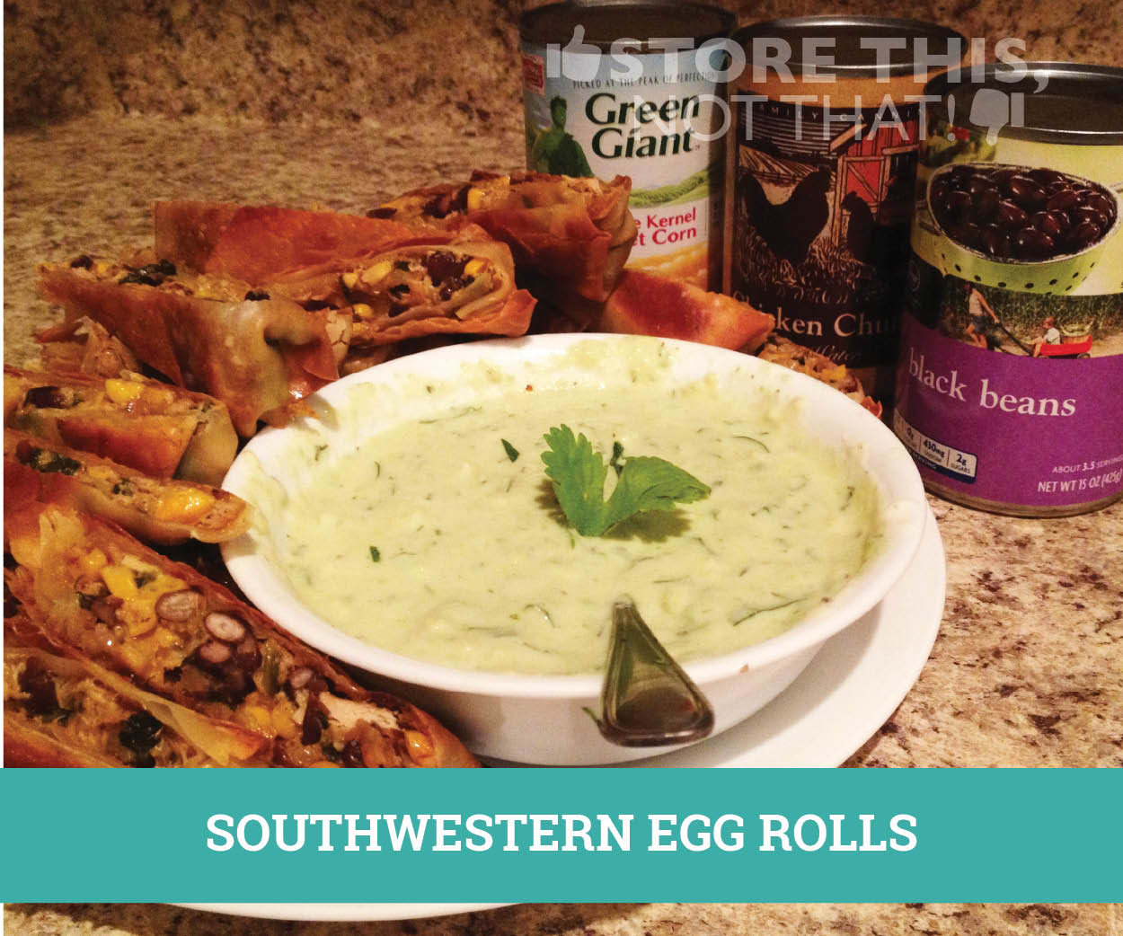 Southwestern Egg Rolls | Store This, Not That!