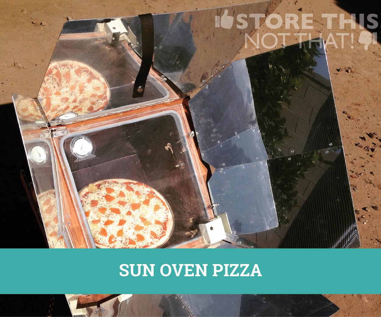 SUN OVEN PIZZA