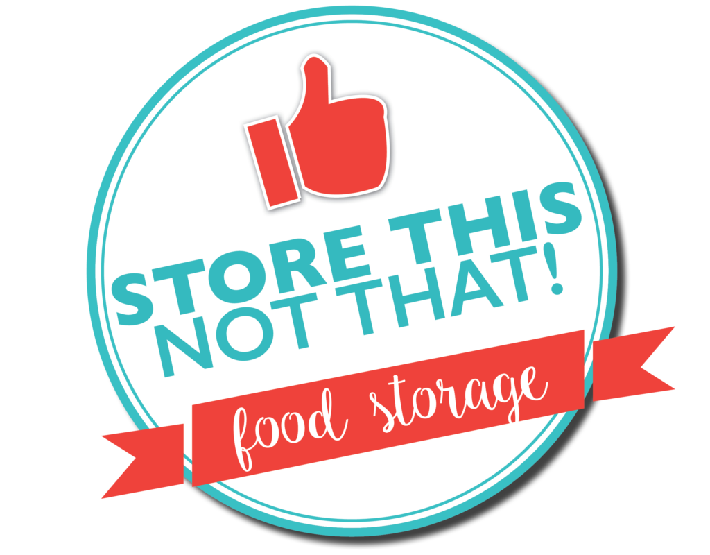 Food Storage Back to Basics: Three Month Supply | Store This, Not That!