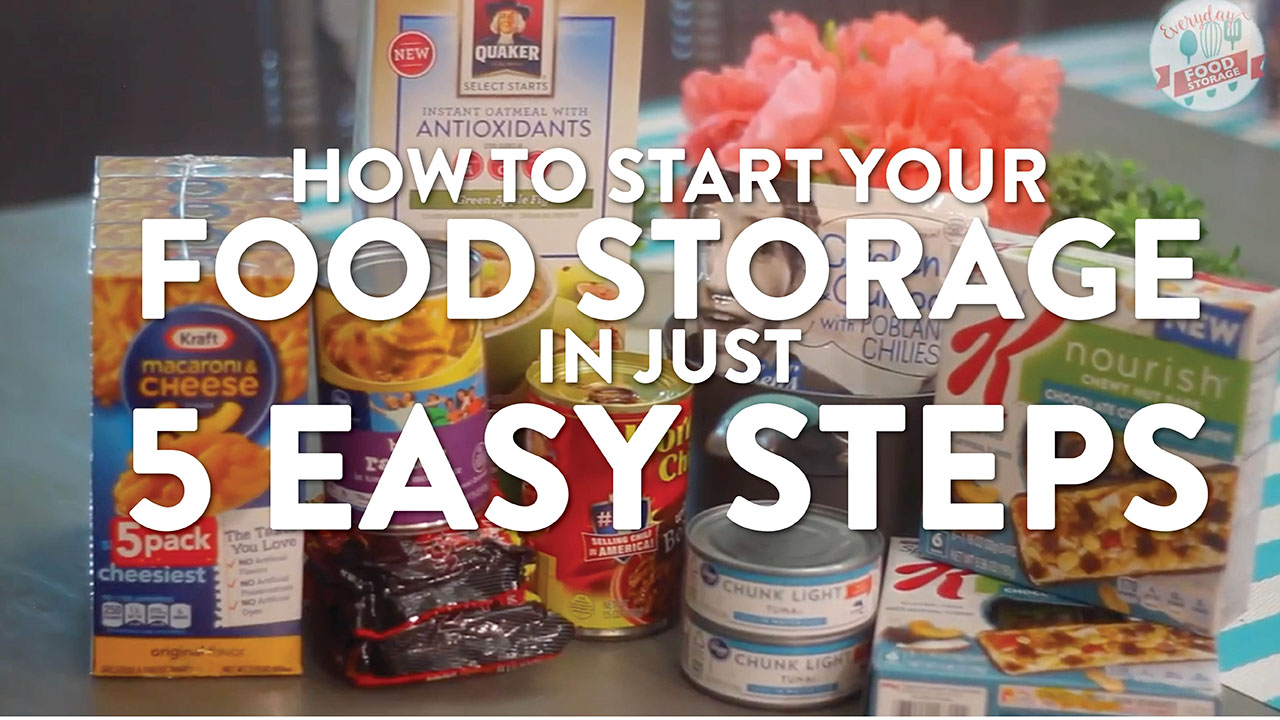 Food storage for beginners how to start your food storage in 5 easy food storage for beginners how to start your food storage in 5 easy steps store this not that forumfinder Image collections